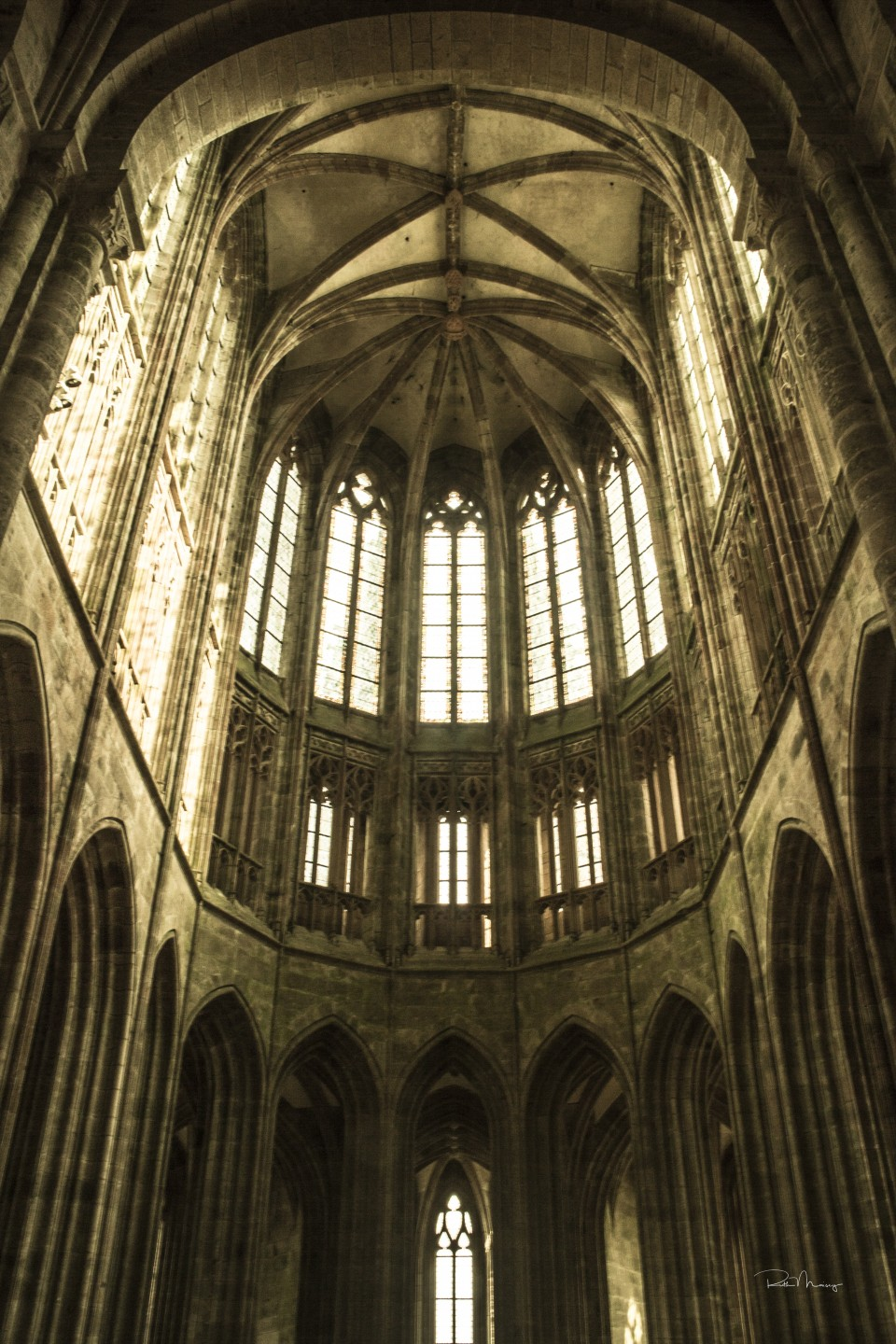 Inside Mont St Michel My Recent Visit To The Abbey